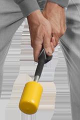 hand gripping